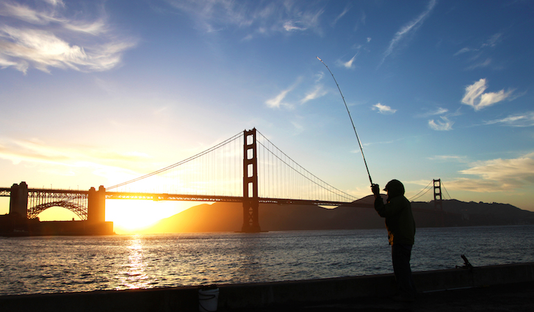 It's a great day when you fish the waters of the largest estuary of the Pacific Coast!