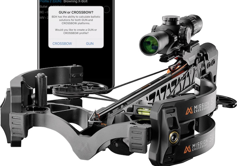 Revolutionary Ballistic Data Xchange (BDX) system now for crossbows.