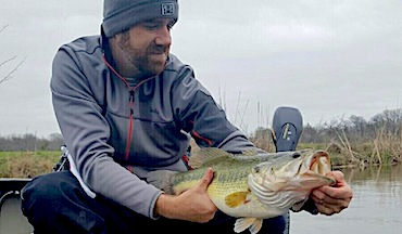 What to do when weather, water clarity impacts fishing for bedding bass.