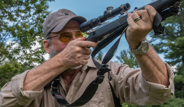 An unusual deer hunting rifle: A good bullet placed properly is really all that's needed.