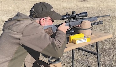 Let a bullet's time of flight determine how to sight in a big-game rifle.