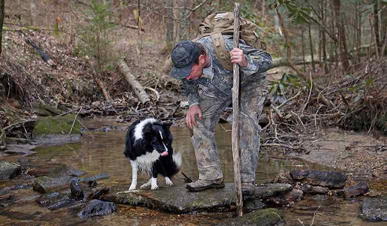 Scenes from afield: Game & Fish Photo Editor Ron Sinfelt shares photos of scouting with his dog Oreo.