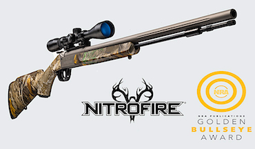 News: Traditions NitroFire and Federal Premium Firestick win NRA's 2021 Golden Bullseye Award