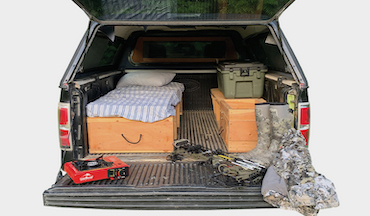 Hitting the whitetail road this fall? Here's how to turn your truck into the ultimate mobile hunting rig.