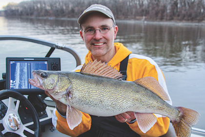 Spring sees walleyes staging for spawning runs on Midwestern rivers. Here's what to know.