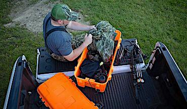Wildgame Innovations ZeroTrace offers complete scent elimination system from home to the field.
