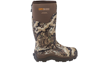 The all-terrain, waterproof boots tackle multiple climates, conditions.