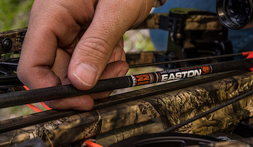 USA-made shafts are ready for fall hunting.