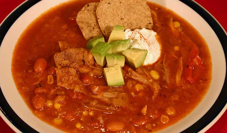 Game Bird Tortilla Soup Recipe