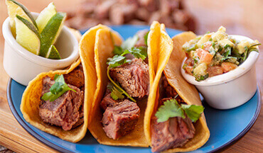 Bursting with protein and full of flavor, this Grilled Bison Tacos Recipe is the perfect dish to serve up on Taco Tuesday or any day of the week.