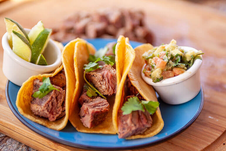 Grilled Bison Tacos Recipe