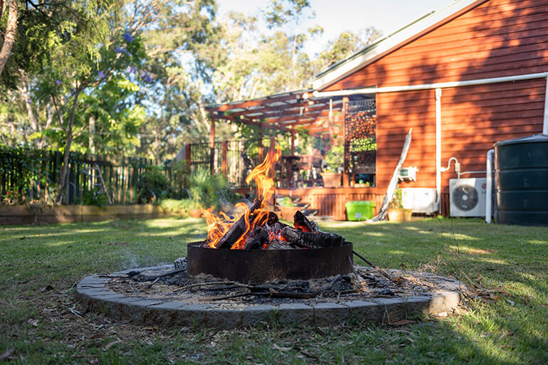 How to Install an Inexpensive Firepit