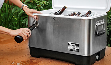 Hosting an outdoor party on your deck? Here are some tips to help you decide what size cooler you'll need for the occasion, along with suggestions on ice maintenance and the best coolers for the job.