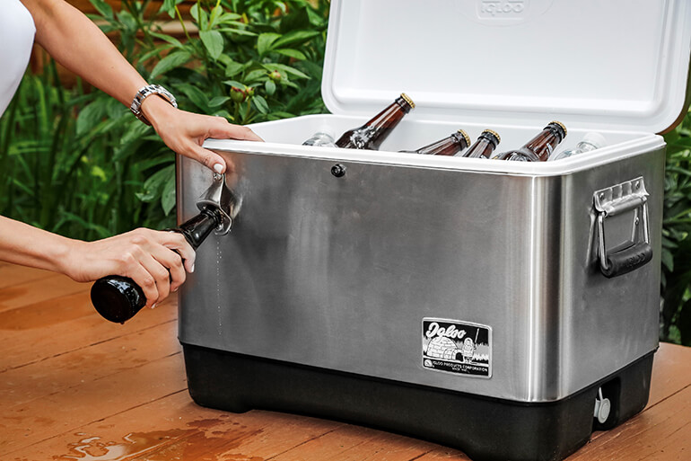 5 Best Coolers for Your Backyard Deck