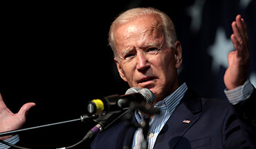 Former Vice President Joe Biden is the captain now.