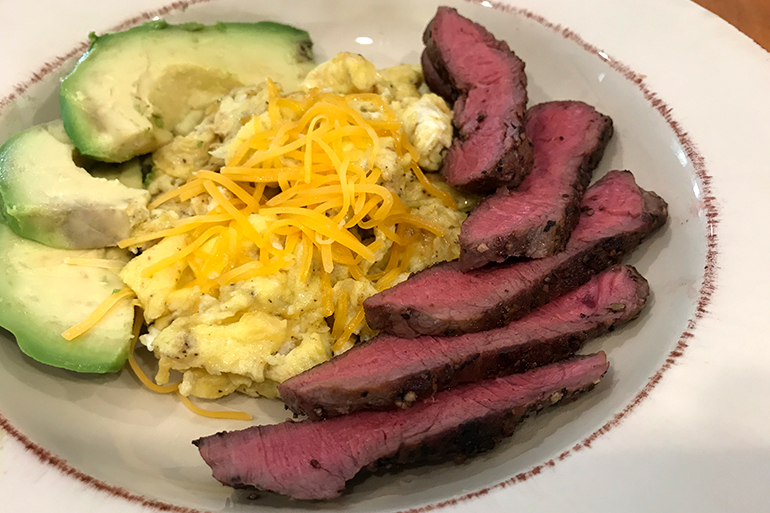 Keto Venison Brunch Bowl Recipe
