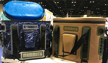Mammoth's soon-to-be-released coolers – the Highlander, Pathfinder, Voyager, and Trooper – are lightweight, durable, and highly portable.