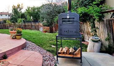 Bring the tradition of Argentinian-style wood-fired cooking to your backyard or any deer or fishing camp with the Ñuke 60, a hand-crafted outdoor oven.