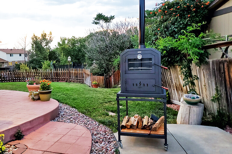 Up Your Outdoor Cooking Game with a Real Wood Burning Oven