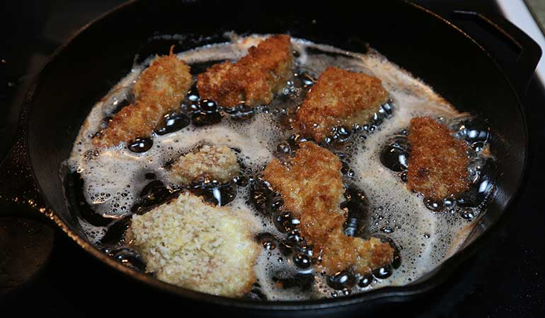 Panko-Fried Alligator With Spicy Mayo Recipe
