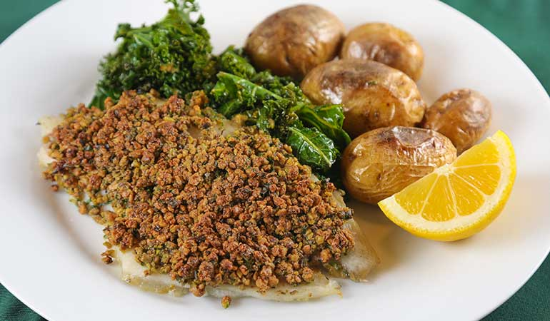Pistachio-Crusted Catfish Recipe