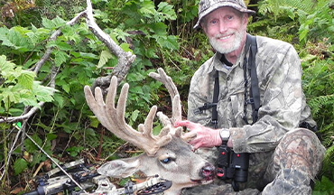 Non-typical Sitka blacktail deer will now be accepted as a new category within the Pope and Young Club Records Program.