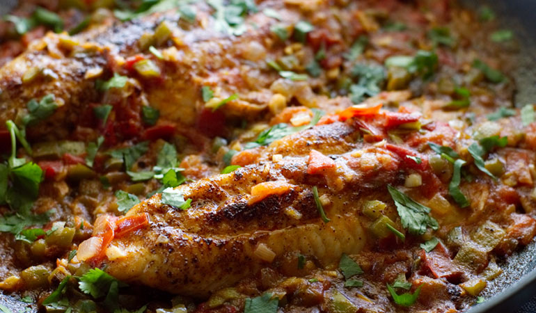 quick easy catfish veracruz recipe fillets