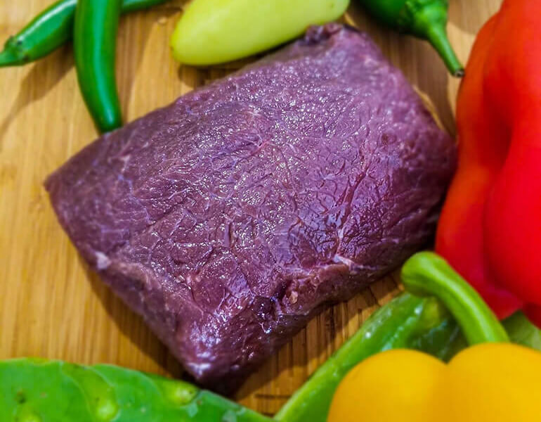 simple elk venison backstrap peppers recipe