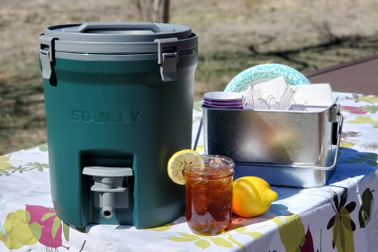 Stay hydrated this summer with this delicious and easy Southern Sweet Tea recipe.