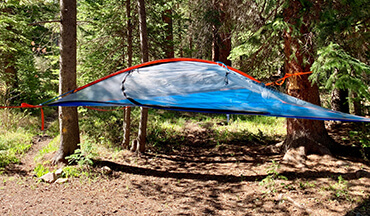 Take your outdoor shelter above ground with the Tentsile Flite 2-Person Tree Tent
