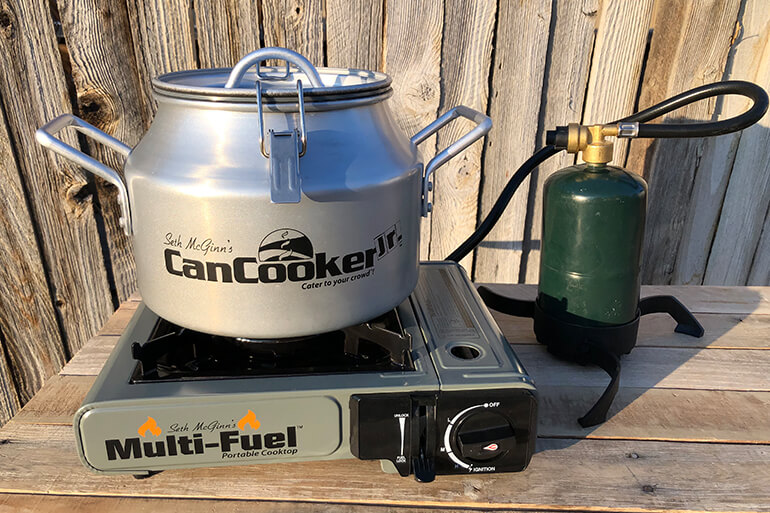 CanCooker and Seth McGinn's Multi-Fuel Portable Cooktop