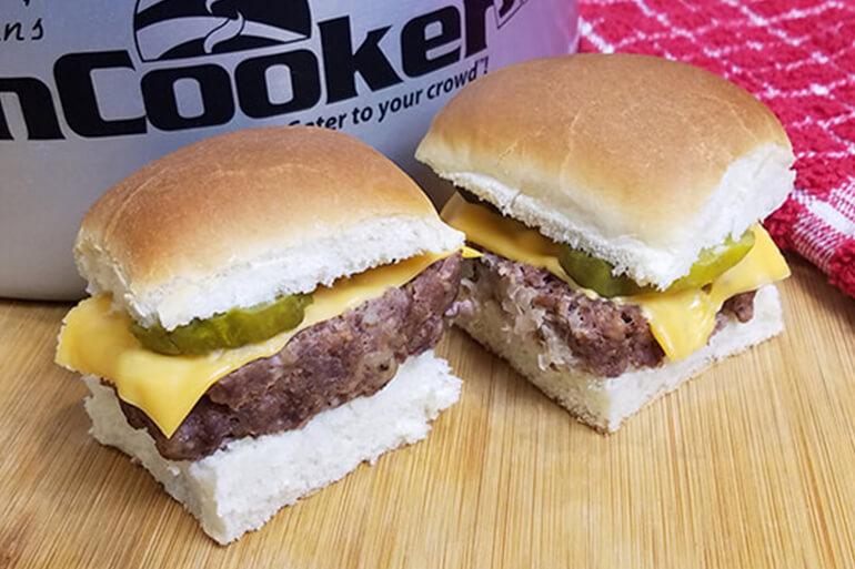 Venison 'White Castle' Burgers
