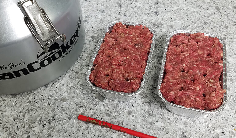 Venison 'White Castle' Burgers in a CanCooker Recipe