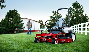 Upgrading your mower? Here are some tips to help you decide what size mower is right for your lawn.