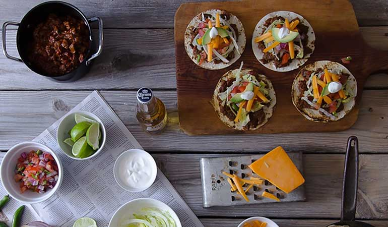 Wild Bear Tequila Chili Tacos Recipe