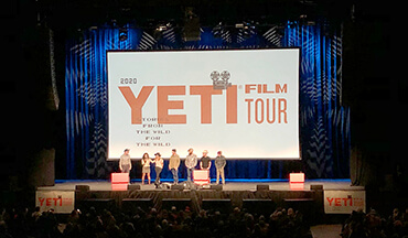 Buy a ticket to the 2020 Yeti Film Tour to see inspiring films from the wild, support conservation, and meet other adventurers with a passion for the outdoors.