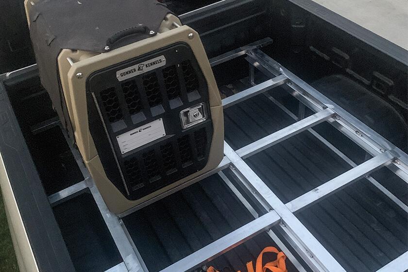 Custom DIY truck bed drawer frame