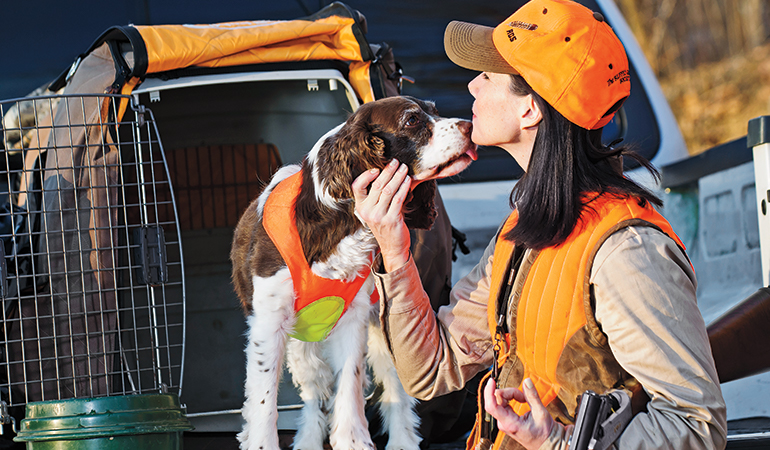 Tips for Your Gun Dog's First Day Afield