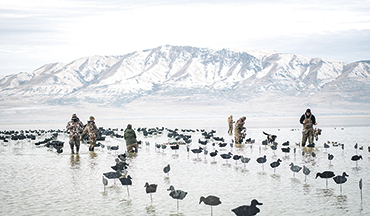 A bucket-list waterfowl hunt on Utah's GSL tests this hunter's prowess, as well as his Beretta.
