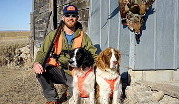 Two functional dogs - Cocker Spaniel and Springer Spaniel - but which one fits your needs? We break down which breed is best for your hunting situation.