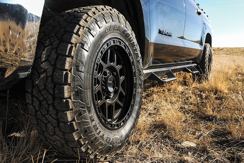 Toyo Tires Open Country R / T with KMC KM544 Mesa Wheels