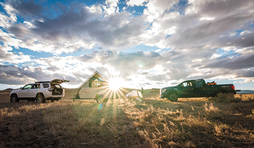 Grab your gun, camping gear, and bird dog and hit the road for an epic adventure this fall.