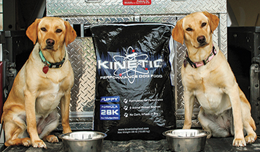 Four different formulas can feed your pup throughout every life stage.
