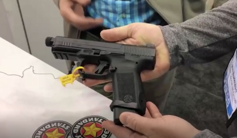 New 9mm Handgun Models from Century Arms