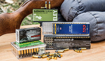 Whether you're looking to thin the herd of lawn-destroying gophers without alarming your neighbors, or if you simply need a low-noise alternative that helps protect your hearing while shooting, here's a look at five of the best subsonic .22 LR ammo loads.