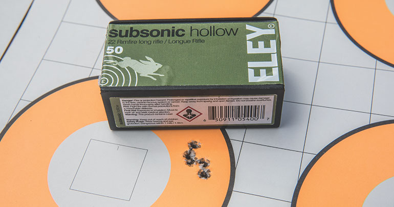 Eley Subsonic Hollow