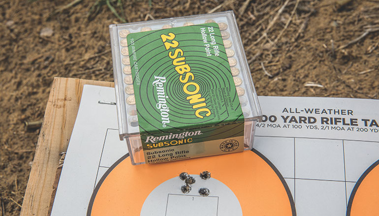 Remington 22 Subsonic