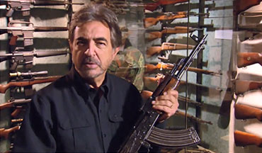 Joe Mantegna talks about the origins of the AK-47.