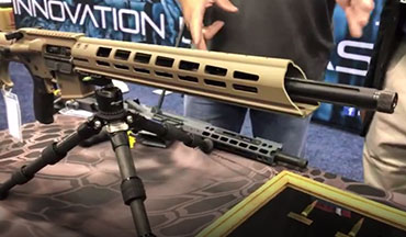 Guns & Ammo editor Eric Poole joins Wayne Holt of Alexander Arms at the 2019 NRA Show.