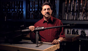 Joe Mantegna talks about the origins of the Barrett M82A1.